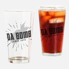 Birthday Born 1970 Da Bomb Drinking Glass