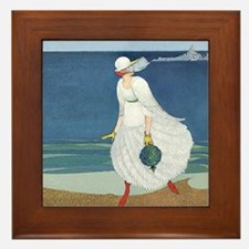 VOGUE - Bride on the Seashore Framed Tile