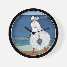 VOGUE - Bride on the Seashore Wall Clock