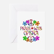 Peace Love Opera Greeting Cards (Pk of 10)