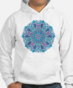 Funny Blue lace Hoodie