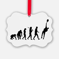 Evolution Tennis Ornament