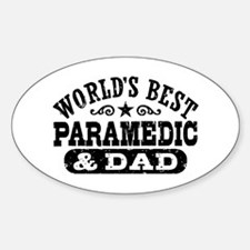 World's Best Paramedic and Dad Decal