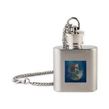 Clive Sensual Pearl Mermaid Flask Necklace
