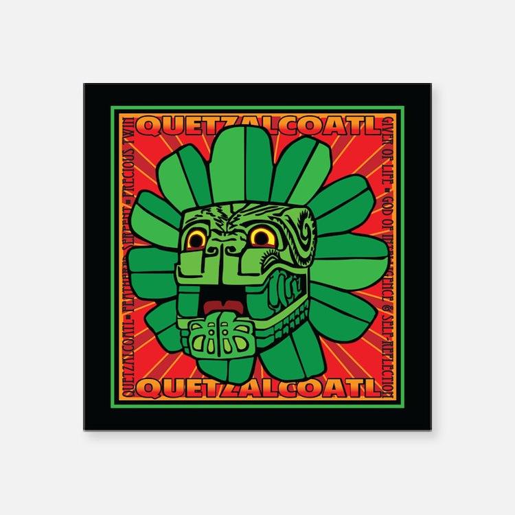 Aztec God QUETZALCOATL Sticker