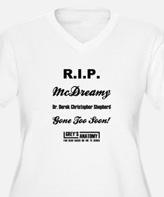 RIP MCDREAMY Plus Size T-Shirt