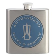 Cute Plymouth duster Flask