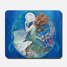 Clive Erotic Pearl Mermaid Mousepad