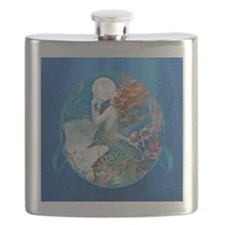 Clive Erotic Pearl Mermaid Flask