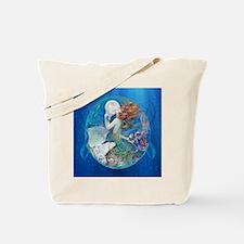 Clive Erotic Pearl Mermaid Tote Bag