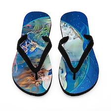 Clive Erotic Pearl Mermaid Flip Flops