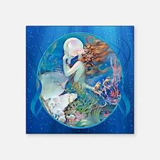 Clive Erotic Pearl Mermaid Sticker