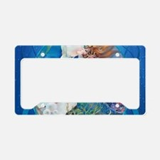 Clive Erotic Pearl Mermaid License Plate Holder