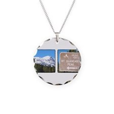 Quandary Peak and info Necklace