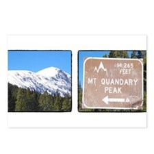 Quandary Peak and info Postcards (Package of 8)