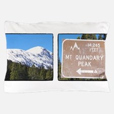 Quandary Peak and info Pillow Case