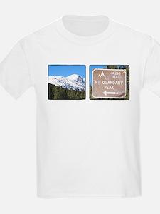 Quandary Peak and info T-Shirt
