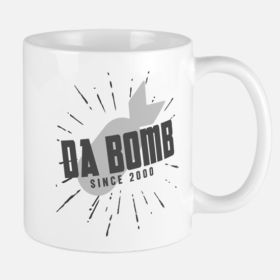Birthday Born 2000 Da Bomb Mug