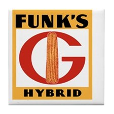 Funks Hybrids Tile Coaster