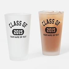 Class of 2015 Graduation Drinking Glass