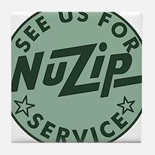 NuZip Service Tile Coaster