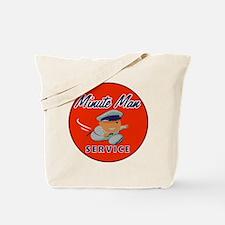 Minute Man Tote Bag
