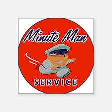 Minute Man Sticker