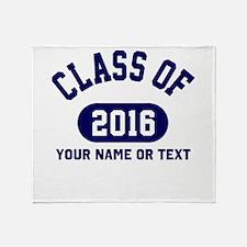 Class of 2016 Graduation Throw Blanket