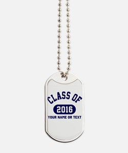 Class of 2016 Graduation Dog Tags