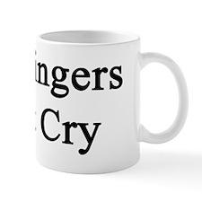 Real Singers Don't Cry  Mug
