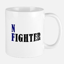 NF Fighter Blue Mugs
