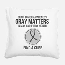 Unique Causes Square Canvas Pillow