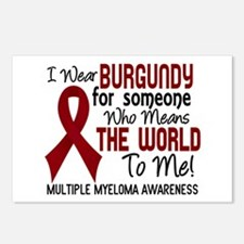 Multiple Myeloma MeansWor Postcards (Package of 8)