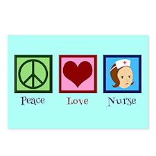 Pretty Nurse Postcards (Package of 8)