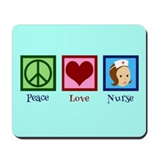 Pretty Nurse Mousepad