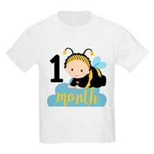 1 Month Monthly Milestone T-Shirt