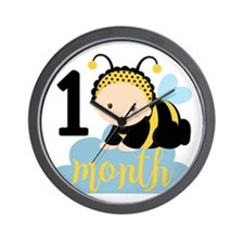 1 Month Monthly Milestone Wall Clock