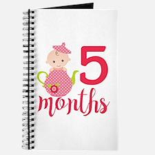 5 Months Monthly Milestone Journal