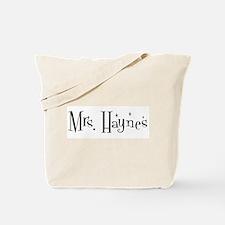Mrs. Haynes Tote Bag