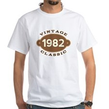 1982 Birth Year Birthday Shirt