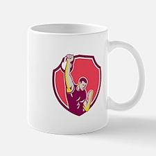 Kettlebell One-Arm High Pull Retro Mugs