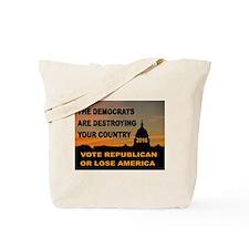 LAST WARNING Tote Bag