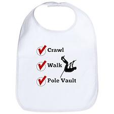 Crawl Walk Pole Vault Bib