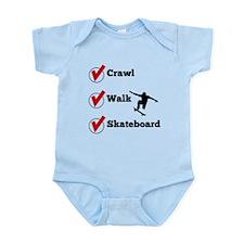 Crawl Walk Skateboard Body Suit