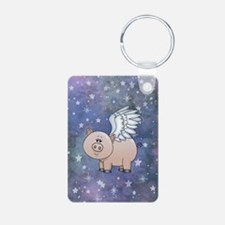 Cute Pigs with wings Keychains