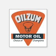 OilZum Retro Logo Sticker