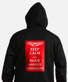 Cute Flight crew Hoodie (dark)
