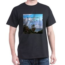 MATTHEW 19:26 VERSE T-Shirt