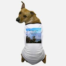 MATTHEW 19:26 VERSE Dog T-Shirt