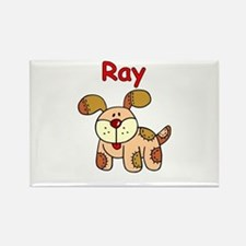 Ray Puppy Rectangle Magnet